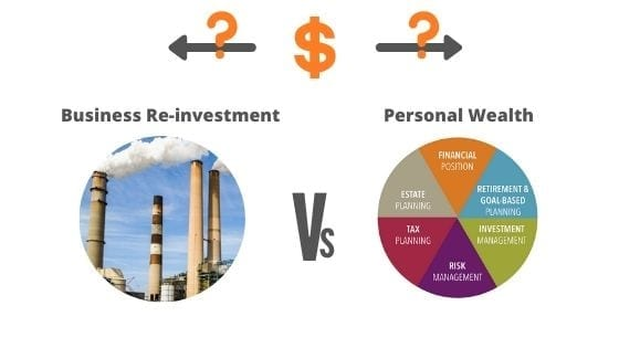 Top Reason why Entrepreneurs fail Financially 'The distinction between Business Money and Personal Wealth'